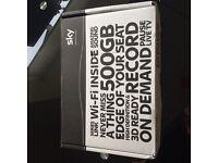 Brand new sky+ HD box