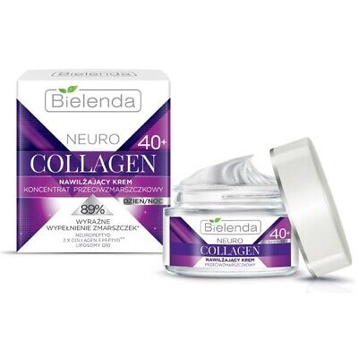 Bielenda Neuro Collagen Moisturising Anti Wrinkle Cream Concentrate 40+Day Night