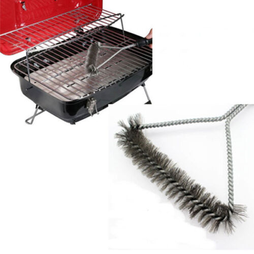 how to clean stainless steel barbecue grates