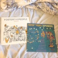 Foster The People vinyls 2 for 15$