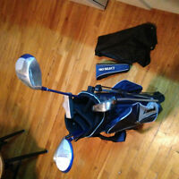 ensemble de golf Junior droitier 8-12 ans