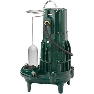 Zoeller M292 - 12 Hp High Head Waste-mate Cast Iron Sewage Pump W Vertical ...