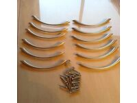 12 Drawer Handles excellent condition