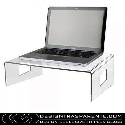 Supporto per pc da letto e divano in plexiglass trasparente - Designtrasparente_