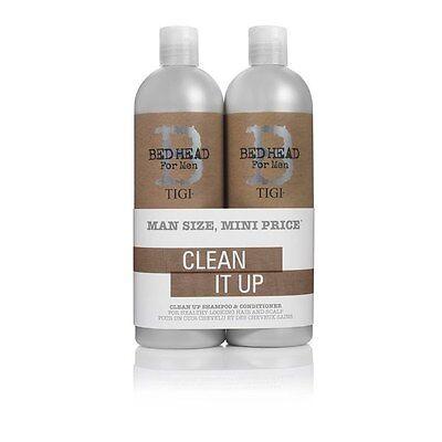 TIGI BED HEAD - B for Men - CLEAN UP Shampoo und Conditioner je  750ml Tween Duo