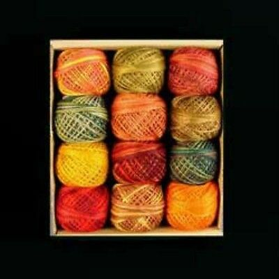 Valdani 3 Strand Cotton Floss Embroidery Punchneedle Thread Fabulous Autumn Set