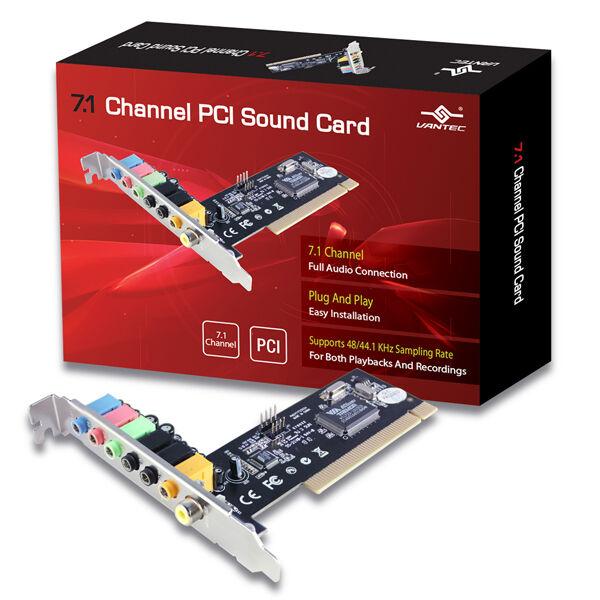 Vantec 7.1 Channel PCI Sound Card