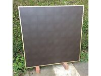 New DISPLAY BOARD 1200 x 1200 with Gold Effect Frame