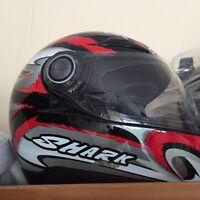 Shark medium helmet