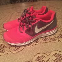 Pink & Grey Nike FitSole Running Shoes.