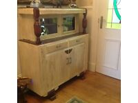 Restored with Annie Sloan paints sideboard