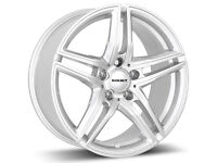 BORBET ALLOY WHEELS 17 5X120 VW T5/BMW/TRAFIC/VIVARO