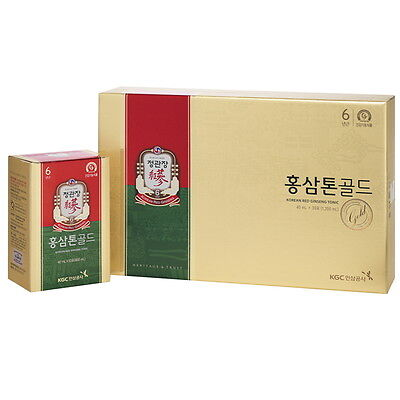 CheongKwanJang Red Ginseng Extract Hongsamtone Gold 40 ml*30 packs Plus Herb