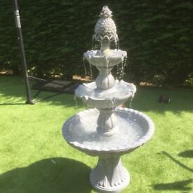 1.5m stone effect fountain