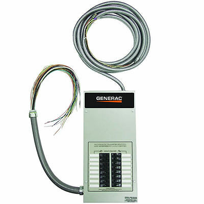 Generac 100-amp Indoor Automatic Transfer Switch W 16-circuit Load Center