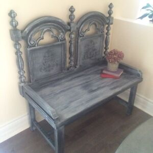 Refurbished  Rustic Bench