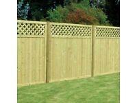 NEW T & G Fence Panels 180x180 x 4 KDM