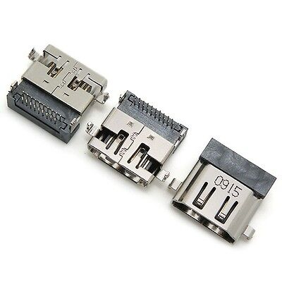 LOT X 10 HDMI Port Connector Jack Input Receptacle 19 pin For Laptop