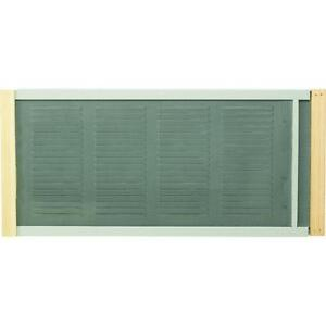 10 Quot H Window Screen With Ventilator Adjustable 21 Quot W To 37