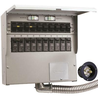 Reliance Controls Protran 2 - 30-amp 120240v 10-circuit Transfer Switch ...