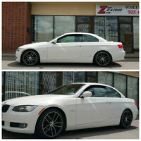 18 Inch Rims & Tires Bmw 3 series $1100 . Z racing 905 673 2828