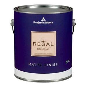 Full paint can of Benjamin Moore Regal Select in Beige/Tan
