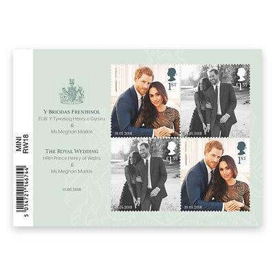 UK Royal Wedding miniature sheet MNH 2018