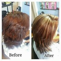 Kenra smoothing Permanent hair straightening Keratin treatment