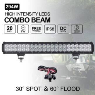"20"" LED Light Bars - Cheapest In Perth!"