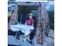 Kitchen/sun tent