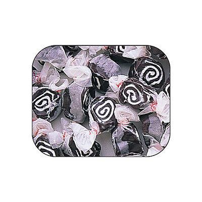 LICORICE SWIRL  Salt Water Taffy Candy ~ TAFFY TOWN ~  1 LB  the best (The Best Salt Water Taffy)