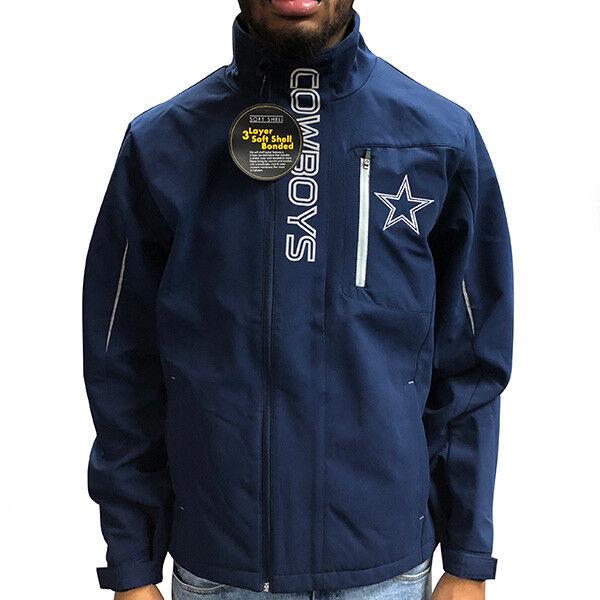 Dallas Cowboys NFL G-III Sports ENERGY SOFT SHELL Full Zip N