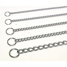 """Heavy Choke Chain for Dogs - 3.0mm - 18"""" to 24"""" - maximum strength & durability"""