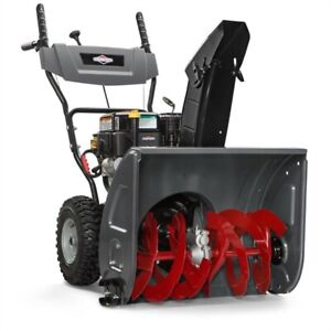 Brand new Briggs & Stratton208cc 24-in Two-Stage Gas Snow Blower
