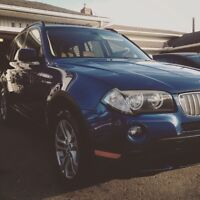 2007 BMW X3 SI With New Winter tires