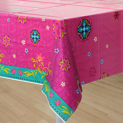 FROZEN Disney Princess 2 Table Cover Birthday Party Supplie Elsa/Anna Tablecloth (Disney Princess Table Cover)