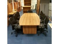Executive Boardroom Table in American Walnut
