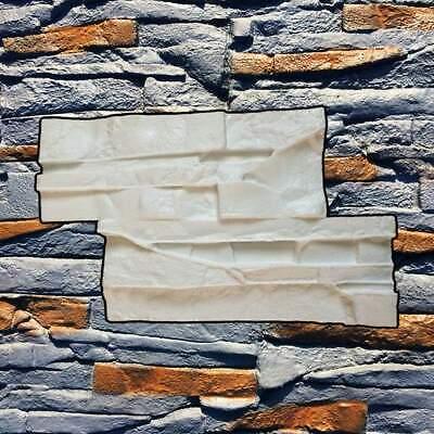 Concrete Silicone Stamp Texture Vertical Diy Decorative Stone Wall Beton Stempel