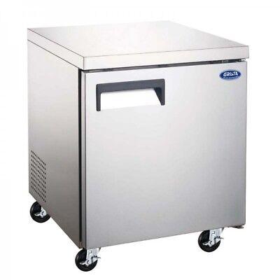 27 Undercounter Freezer Commercial Freezer Worktop Stainless Steel