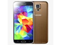 Samsung Galaxy s5. 16gb. Gold. Unlocked. As new. £160 fixed price