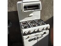 Rare 1950's New World 6 ring gas cooker