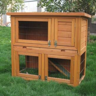 ♥♥♥ Double Storey Rabbit/Guinea Pig Hutch ON SALE NOW ♥♥♥ Londonderry Penrith Area Preview