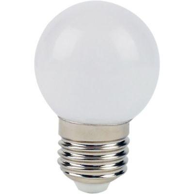 Deco Led (LIGHTME Deco LED Birne Lampe Globus 1W ersetzt 9W E27 827 (IP44) LM85249)