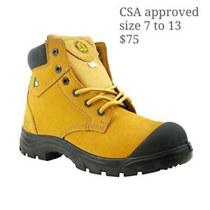 Csa safety work boots and shoes from $50