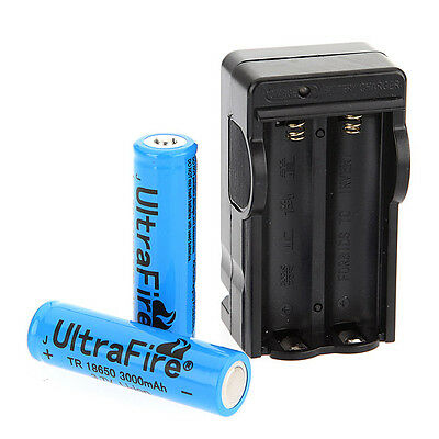 UltraFire 3000mAh 3.7V 18650 Rechargeable Li-ion Battery Charger for Flashlight on Rummage