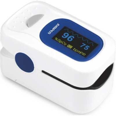 Jumper Fda Approved Finger Pulse Oximeter Color Oled Spo2 Heart Rate Free Case