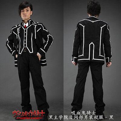 Cosplay Vampire Knight Anime Manga Schuluniform Costumes Kostüme Schwarz Neu ()