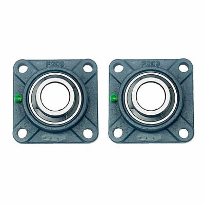 2x Ucf209-27 1-1116 Square 4 Bolt Flange Bearing