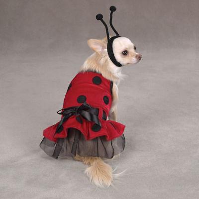 Pet Halloween Costume - Ladybug Dog Costume - Lady Bug Dog - Ladybug Halloween Costumes For Dogs