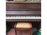 Piano and stool